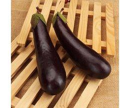 Dekoration Gemüse Aubergine 5 Stück