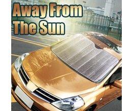 Sonnenblende Für Windschutzscheibe Auto Silverfoil