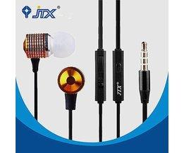 JTX JL520 Ohrhörer Mit Mikrofon Hände Mit Super Bass Sound