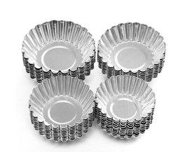 Metallic-Kuchen-Formen