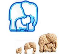 Cutters Plätzchen Elefant