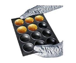 Kuchen-Backen-Zinn 12 Stück