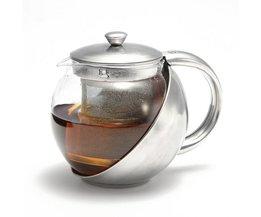Glas Teekanne Mit Filter 750Ml / 500Ml