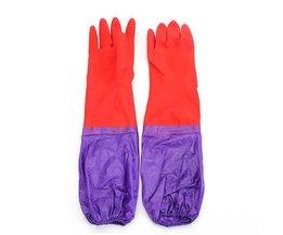 Latex-Handschuhe Abwasch