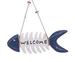 Willkommen Teller Fisch