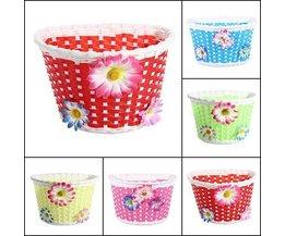 Korb Für Kinder Mit Kunststoff-Blumen