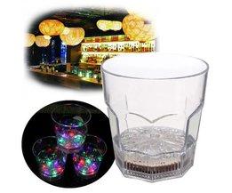 LED Whisky-Glas