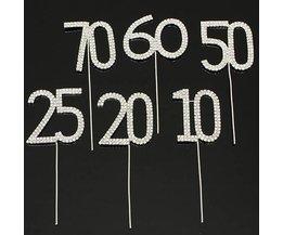 Kuchen Wählt Mit Zahlen
