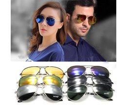 UV400 Aviator Sonnenbrille Im Stil
