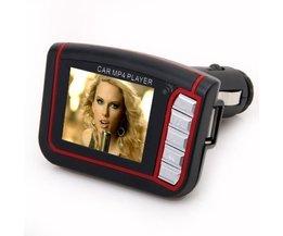 Auto-MP3-MP4-Player Mit FM-Transmitter Und Speicher
