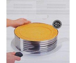 Verstellbare Runde Kuchenformen