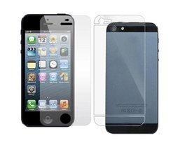 Screenprotectors Front Und Rückseite Für IPhone 5