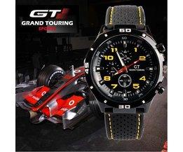 Schwarz Grand Touring Sportuhren