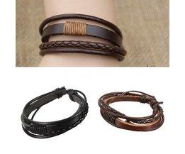 Herren-Leder-Armband
