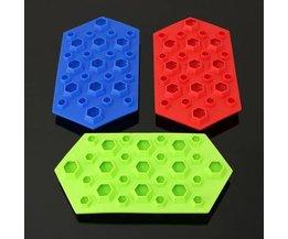 Silikon-Eis-Würfel-Form