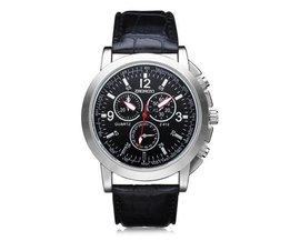 Schwarz-Quarz-Uhr Für Männer