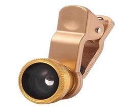 Kamera-Objektiv Für Smartphones Und Tablets 3 In 1