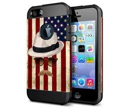 Case Für IPhone 5 & 5S Mit Amerika-Entwurf