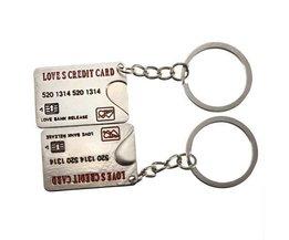 Liebe Keychain