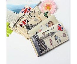 Wallet Clutch Modell Retro Damen