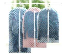 Transparente Kleidersack Mit Stippels