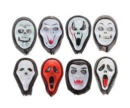 8 Styles Halloween Masken