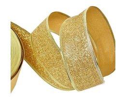 Weihnachtsband-Gold-