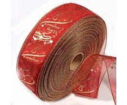 Red Ribbon 'Merry Christmas'