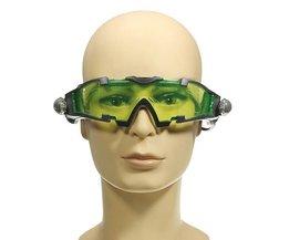 Grüne Nachtsichtbrille
