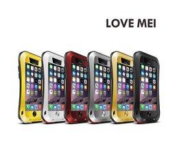 Liebe Mei-Metallaluminiumkasten Für IPhone 6