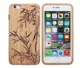 Holz-Kasten Mit Bambus Bush Für IPhone 6 Plus