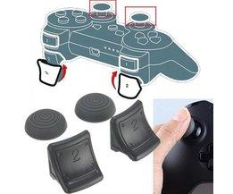 4-In-1-Fall Für Playstation 3 Controller-Tasten