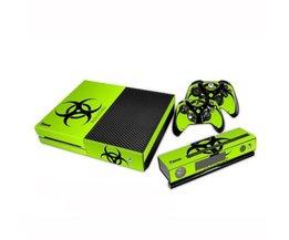 Grünes Biohazard-Haut Für Xbox One