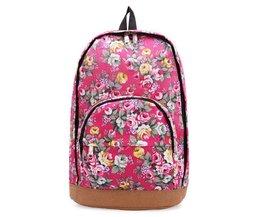 Süße Rucksack Mit Blumen
