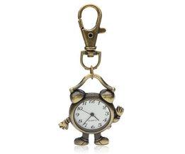 Weinlese-Taschen-Uhren Mit Schlüsselanhänger