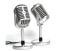 Klassisches Mikrofon