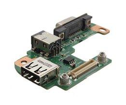 Power-Jack-Port PFYC8 Für Dell Inspiron
