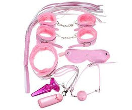 Fetisch Komplett-Set In Pink