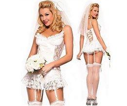 Sexy Braut Kostüm