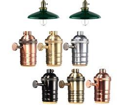 E27 Weinlese-Lampen-Halter In Verschiedenen Farben