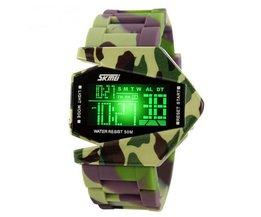 LED Camouflage-Uhr
