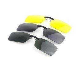Clip Auf Sonnenbrillen Entwurf