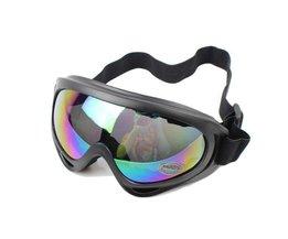 Schwarz Snowboardbrillen