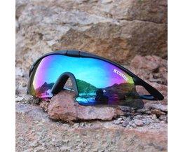 Sportlich Radsportbrille