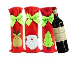 Verpackung Flasche Weihnachten