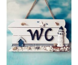 WC-Teller-Strand-Thema