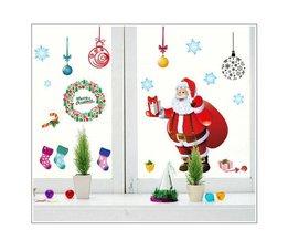 Weihnachtsfensteraufkleber