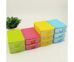 Kunststoff-Organizer Mit Schubladen
