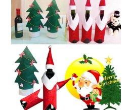 Flasche Dekoration Weihnachten