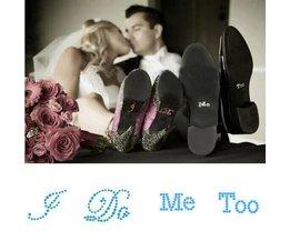 Hochzeit Schuh-Aufkleber